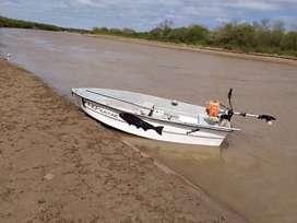 Bote lagunero kayak