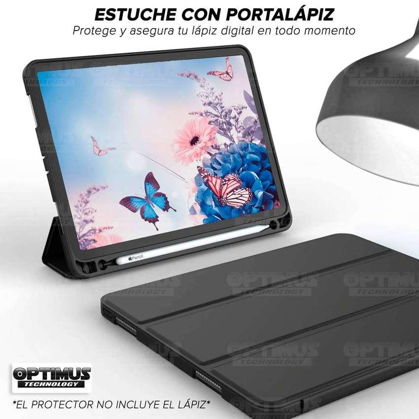 Estuche Case Forro Funda Protectora con tapa para Tablet Ipad Pro 12.9 2019 con portalápiz - Guardar Apple pencil