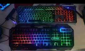 Teclados gamers de calidad luces led