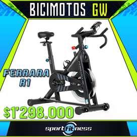 Bicicleta Estática Sport Fitness Ferrara R1