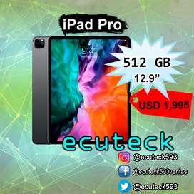 Tablet ipad Pro 512Gb Pantalla 12.9 pulgadas