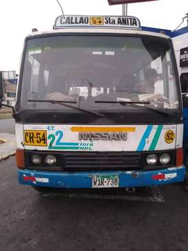 Se remata Microbus Nissan