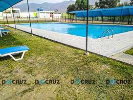 Terreno en Cieneguilla + membresía centro recreacional