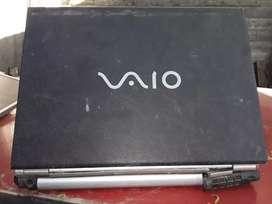 Notebook sony vaio modelo Pcg-6lqp para reparar o repuesto