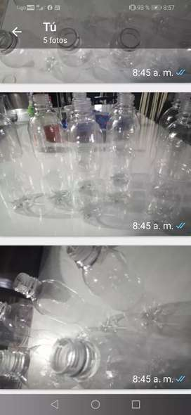 Venta botella plástico con tapa