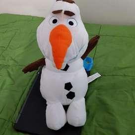 Bolso Morral Mochila De Peluche Disney Frozen Olaf
