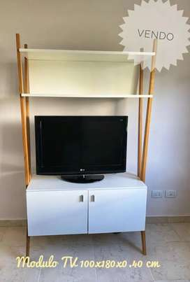 Módulo de tv estilo nórdico