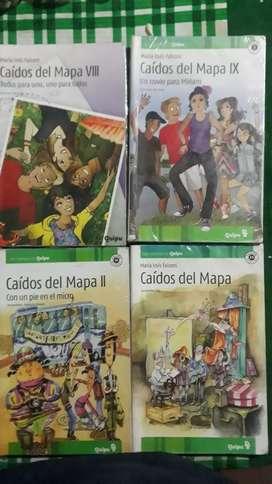 CAIDOS DEL MAPA (4 comix grandes)1/2/8/9 $ 400c/u