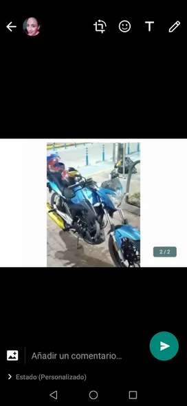 Se vende moto perfecto estado
