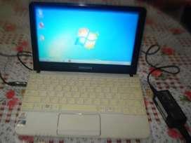 Netbook Samsung Nc110 Completa C/cargador Bateria Dura 4hs