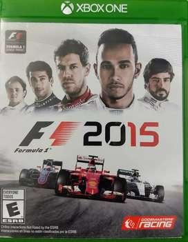 Vendo juego fórmula 1 2015 original Xbox One