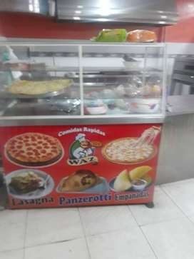 Excelente negocio de comidas rapidas