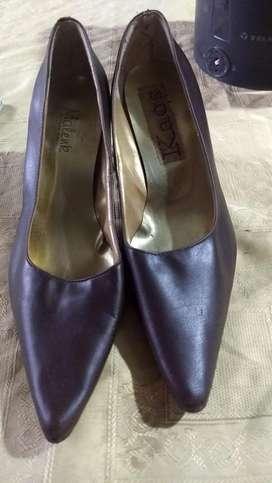 Zapatos color maronn