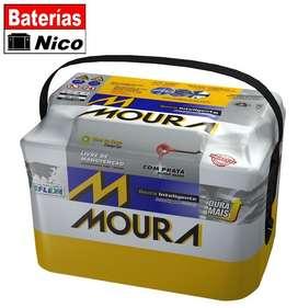 Bateria Moura 12x65  TEL 1549408889