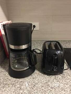 Cafetera Y Tostadora de Pan Ambas