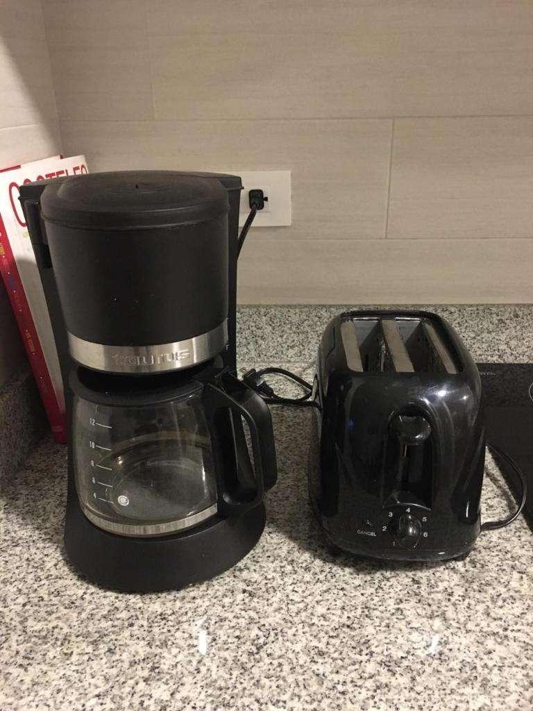 Cafetera Y Tostadora de Pan Ambas 0