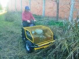 Vendo o Permuto por vehículo Maquina desmalezadora, y cortadora de pasto Autopropulsada Hidráulica