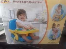 Booster silla de comer portátil