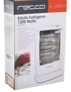 Calefactor halogeno marca recco
