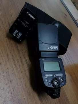 Flash TTL Yongnuo YN685 para canon combo con transmisor YN-622C