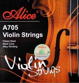 Encordado A705 Para Violin Alice 4/4