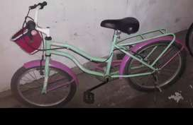 bicicleta rod 20 semi nueva poco uso