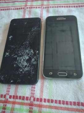 Vendo Samsung j2 y lg k9 con modulo roto