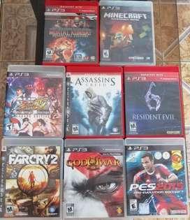 Juegos Ps3 Originales. 5 X 100