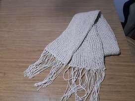 Bufandas. Tejidas en telar. Nuevas