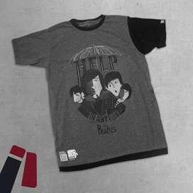 Camiseta Rock The Beatles - Help