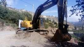 Alquilo o vendo excavadora volvo Ec290blc 2010