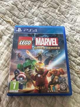 Lego marvel super heroes-ps4