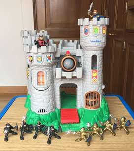 Fisher Price Castel Knights Great Adventures 1994