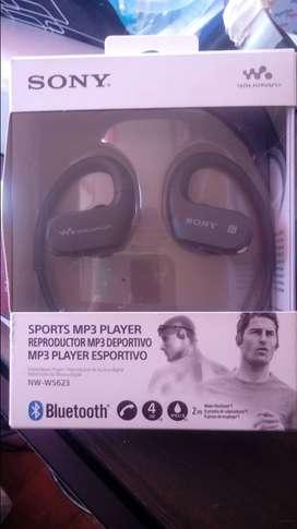 Audífonos Sony Walkman Nw-ws623 4 Gb Bluetooth