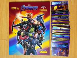 Álbum Avengers EndGame 2019 Panini - Set completo a pegar * Original