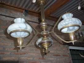 Lámpara de Techo, Tres Luces.