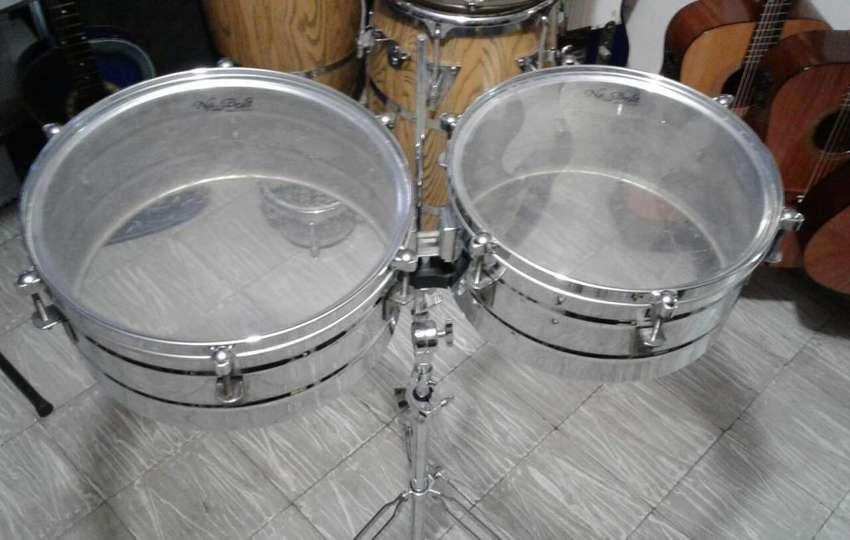 """Timbal New Beat En Acero de 14"""" y 15"""" 0"""