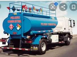 Conductor de cisterna de combustible