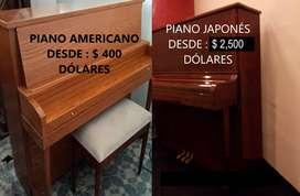 SELECCION DE PIANOS - VENTA