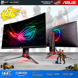Monitor Gamer Asus Strix 144hz 27 Curvo Freesync HDMI DVI 1800R