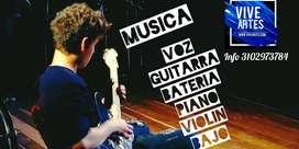 Clases de Música en Bogotá Y Mosquera