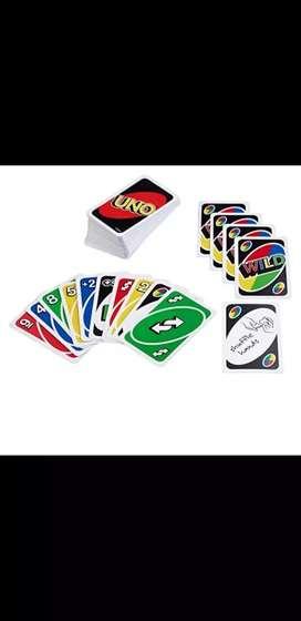 Juego cartas Uno