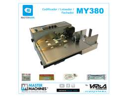 Mastermark MY380 Codificador / Loteador / Fechador de bolsas o etiquetas