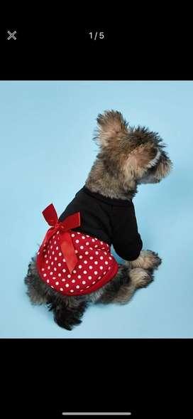 Vestido de mickey para perro
