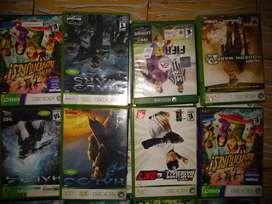 Variedad de juegos Xbox 360 y otros