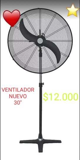 """VENTILADOR INDUSTRIAL nuevo 30"""""""
