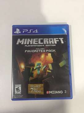 MINECRAFT PlayStation edition