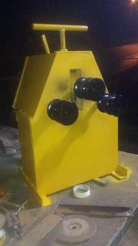 Dobladora, baroladora de tubo