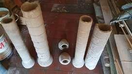 Caños De Cemento De Desagüe De Cloaca - Hurlingham