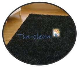 Tin-Clean! Con un solo Tin lavamos tu alfombra , servicio puerta a puerta.